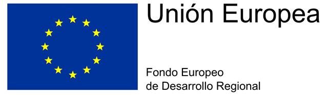 Logo Fondo Europeo de Desarrollo Regional