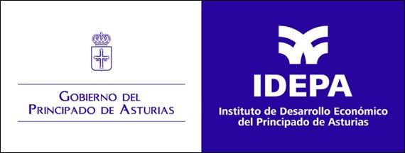 Logo IDEPA Principado de Asturias